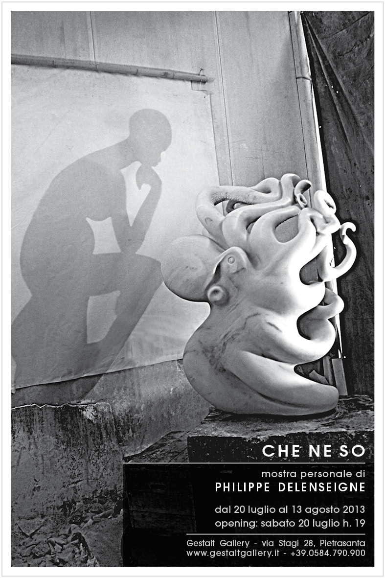 Che ne so an exhibition by Philippe Delenseigne