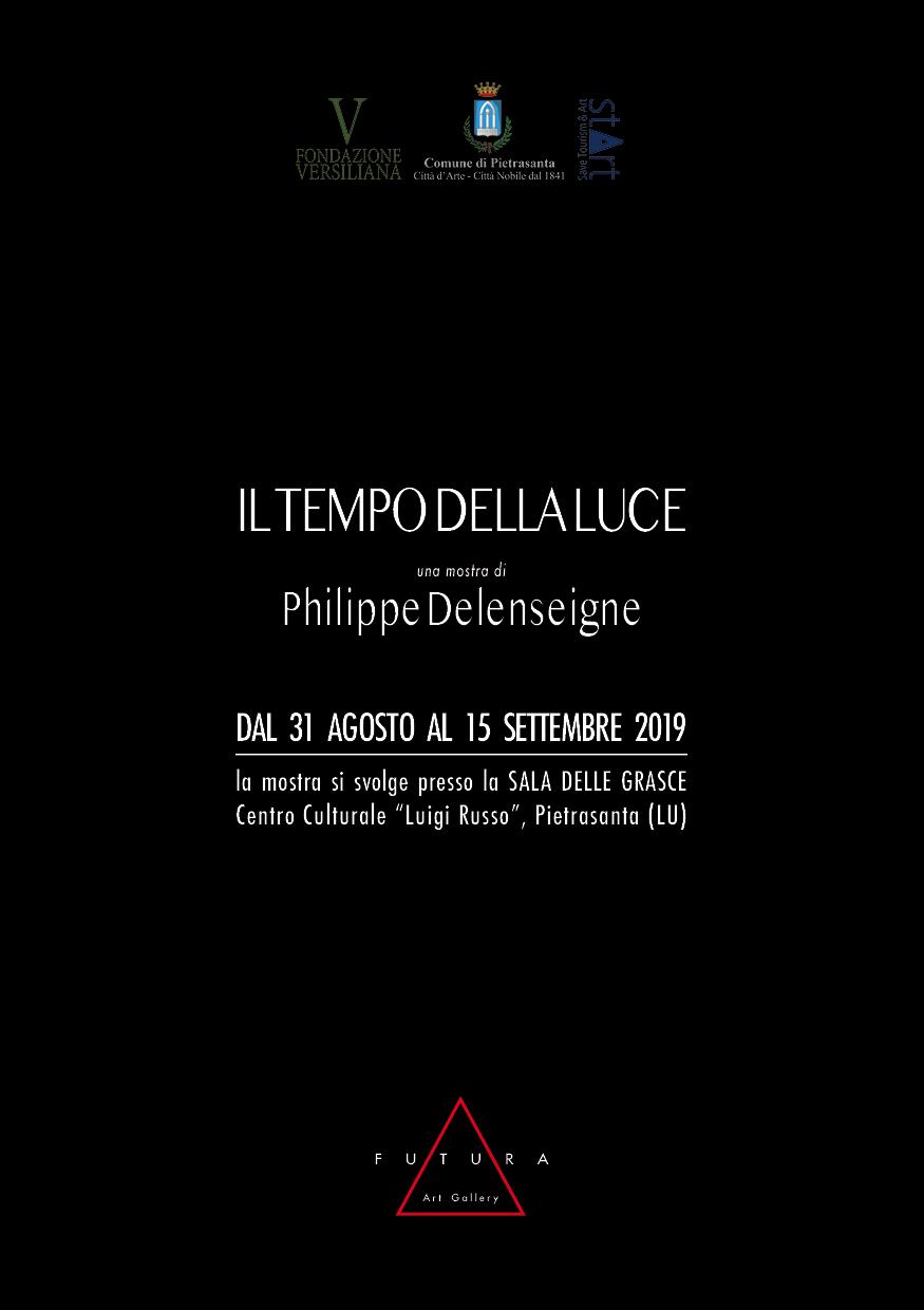 Il Tempo della Luce an exhibition by Philippe Delenseigne
