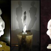 Delirio, 2013 - marble, 96 x 50 x 20 cm