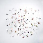 Rèves, 2009 - vinyl on canvas, 100 x 120 cm