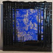Open Ceiling Id, 2016 - vinile su tela, 50 x 50 cm
