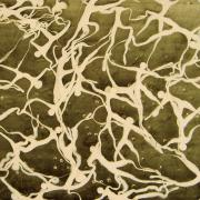 Nervous System, 2003 - vinyl on canvas, 85 x 49 x 14 cm