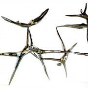 L'Envol, 2014 - stainless steel, 93 x 55 x 20 cm