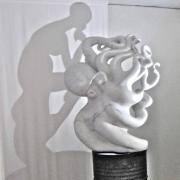 La Penseuse, 2013 - marmo, 135 x 105 x 65 cm