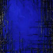 Deep Water, 2016 - vinile su tela, 150 x 100 cm