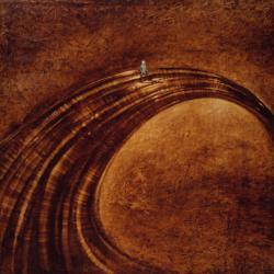 Life, 1995 - olio su tela, 120 x 120 cm