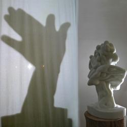 Les Loups, 2014 - marble, 70 x 45 x 40 cm