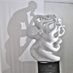 La Penseuse, 2013 - marble, 135 x 105 x 65 cm