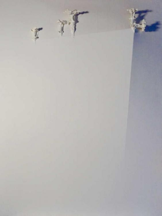 The Fallen Angels, 2014 - vinyl on canvas, 200 x 150 cm