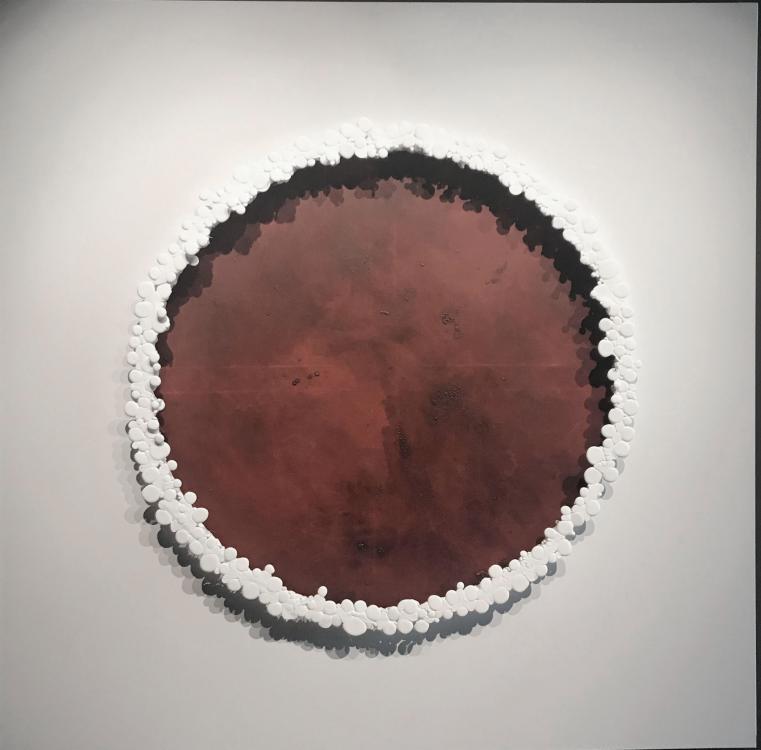 Le Grand Bronze, 2018 - vinyl, 120 x 120 cm